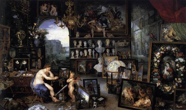 Jan Brueghel the Elder-The Sense of Sight