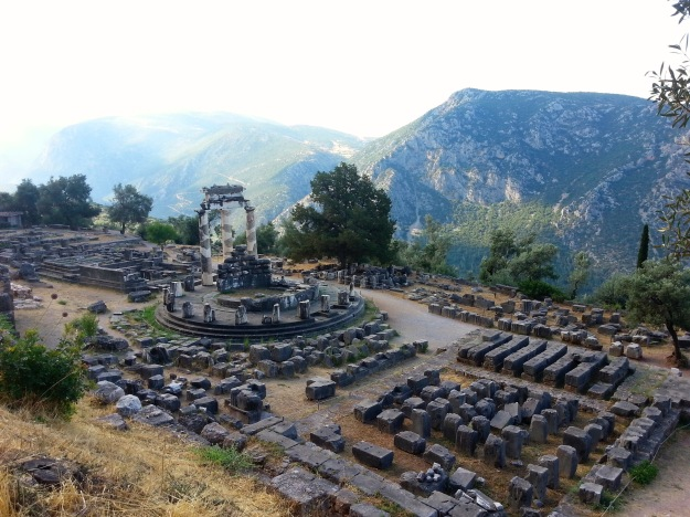Temple of Athena at Delphi