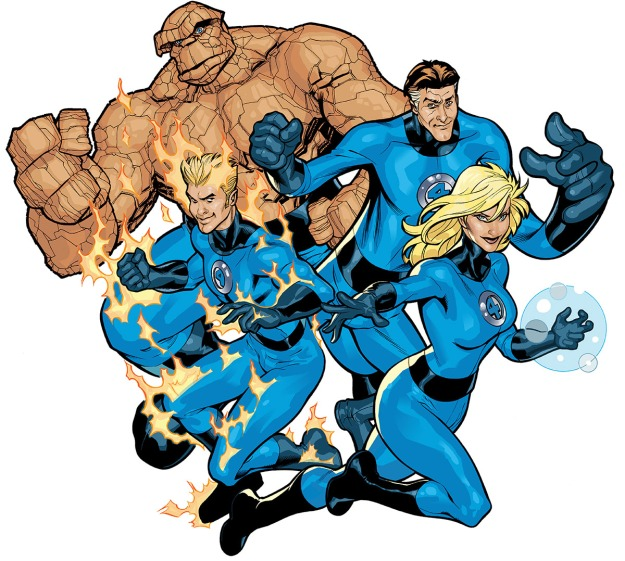 The Fantastic Four, before Civil War