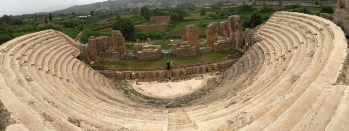 The Odeon at Nicopolis. Did Epictetus attend performances here?