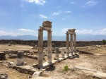 City wall and gymnasium at Hierapolis