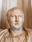 Cicero, bust in the Capituline Museums, Rome (photo by the Author)