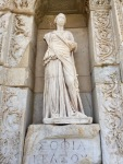 Sophia, from the Library of Celsus at Ephesus