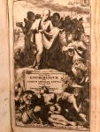 An early modern edition of the Enchiridion (1683), personal copy of the author