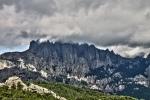 Landscape in Corsica
